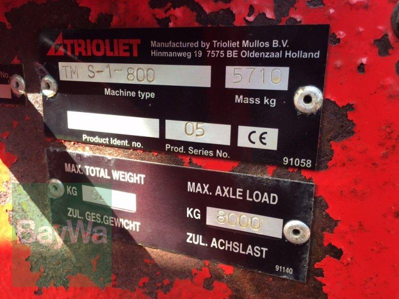 Futtermischwagen des Typs Trioliet Triomix 1-800 >>>Sofort einsatzbereit/ Sehr gepflegt<<<, Gebrauchtmaschine in Dinkelsbühl (Bild 5)