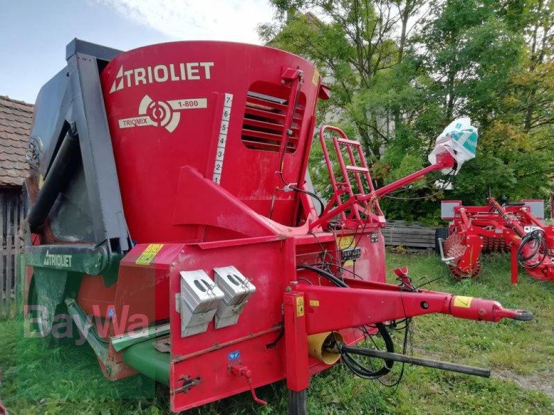 Futtermischwagen des Typs Trioliet Triomix 1-800, Gebrauchtmaschine in Neunburg v.Wald (Bild 2)