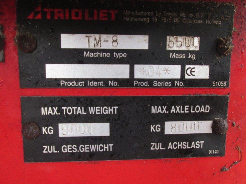 Futtermischwagen des Typs Trioliet Triomix 800 TM 8, Gebrauchtmaschine in Wülfershausen an der Saale (Bild 13)
