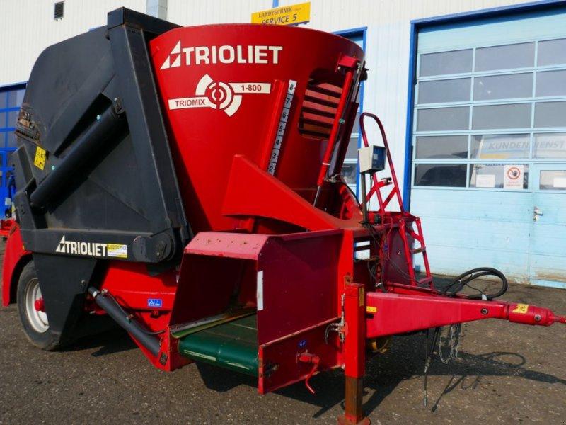 Futtermischwagen des Typs Trioliet Triomix 800, Gebrauchtmaschine in Villach (Bild 1)