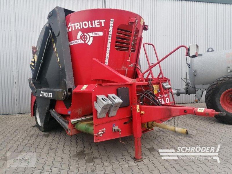 Futtermischwagen des Typs Trioliet TRIOMIX S 1-800, Gebrauchtmaschine in Wildeshausen (Bild 1)