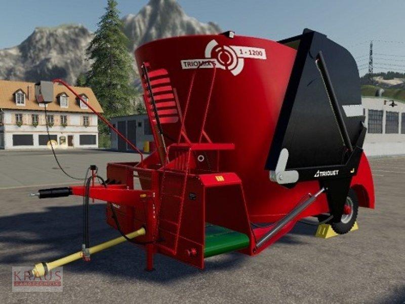 Futtermischwagen des Typs Trioliet Triomix S1-1200, Neumaschine in Geiersthal (Bild 1)