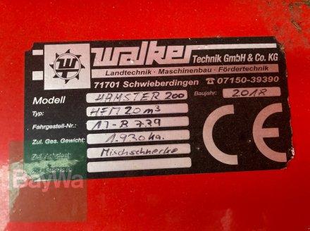 Futtermischwagen des Typs Walker Hamster 200, Gebrauchtmaschine in Giebelstadt (Bild 8)