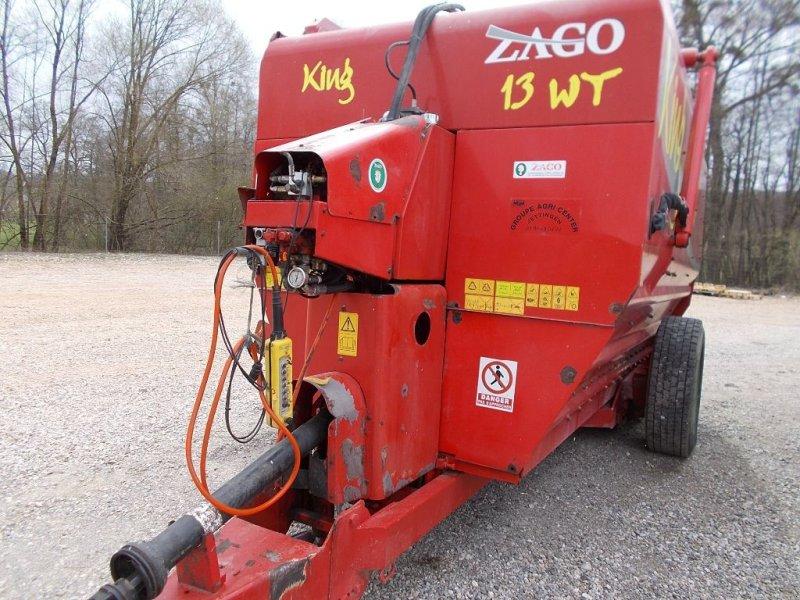 Futtermischwagen des Typs Zago WT13, Gebrauchtmaschine in WALDIGHOFFEN (Bild 1)