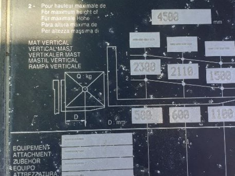 Geländestapler a típus Manitou MSI30D TI, Gebrauchtmaschine ekkor: BAZAINVILLE (Kép 10)