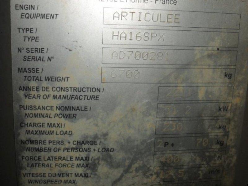 Gelenkteleskopbühne des Typs Haulotte HA 16 SPX, Gebrauchtmaschine in Obrigheim (Bild 9)
