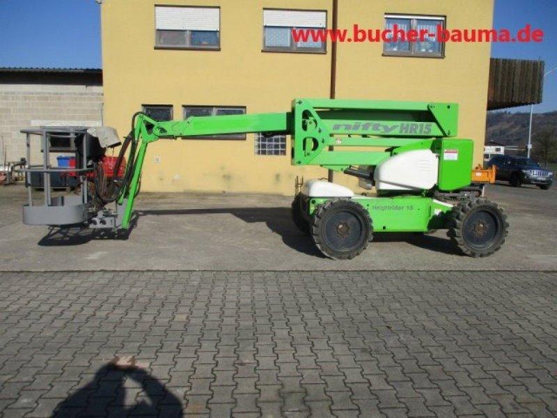 Gelenkteleskopbühne des Typs Niftylift HR 15 D, Gebrauchtmaschine in Obrigheim (Bild 1)