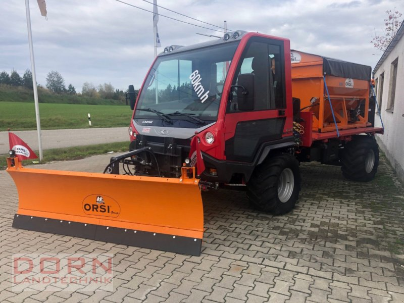 Geräteträger des Typs caron CTS 110  60 Km/h, Neumaschine in Bruckberg (Bild 1)