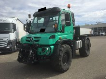 Mercedes-Benz Unimog U 529 Agrar suport pt. Aparate