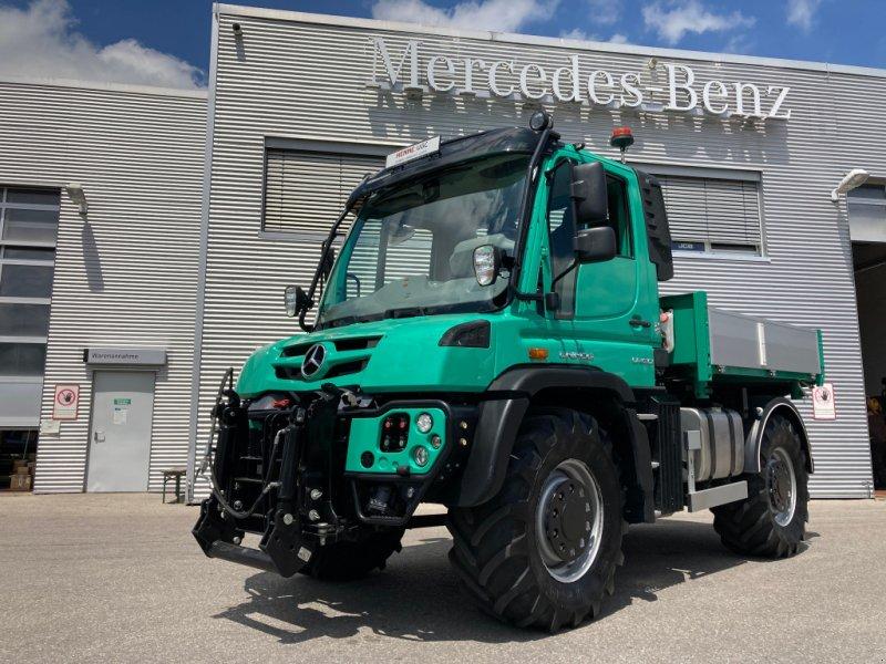 Geräteträger des Typs Mercedes-Benz Unimog U430 Agrar, Gebrauchtmaschine in Heimstetten (Bild 1)
