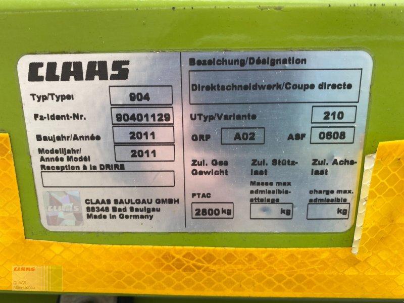 GPS Schneidwerk des Typs CLAAS Direct Disc 610 mit Transportwagen, Gebrauchtmaschine in Vohburg (Bild 1)