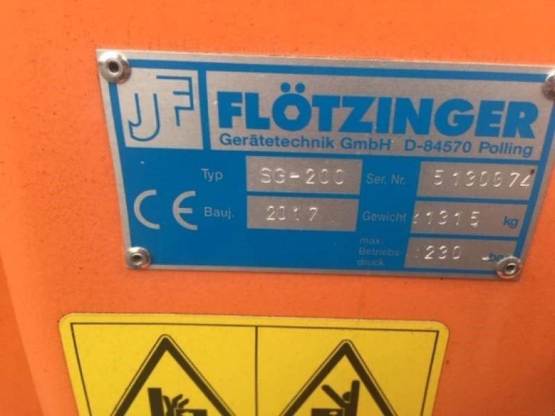 Grader des Typs Flötzinger SG 200, Neumaschine in Bamberg (Bild 8)