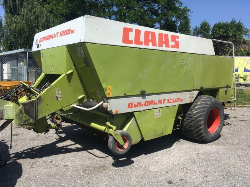 Großpackenpresse des Typs CLAAS Quadrant 1200 RC, Gebrauchtmaschine in Villach (Bild 1)