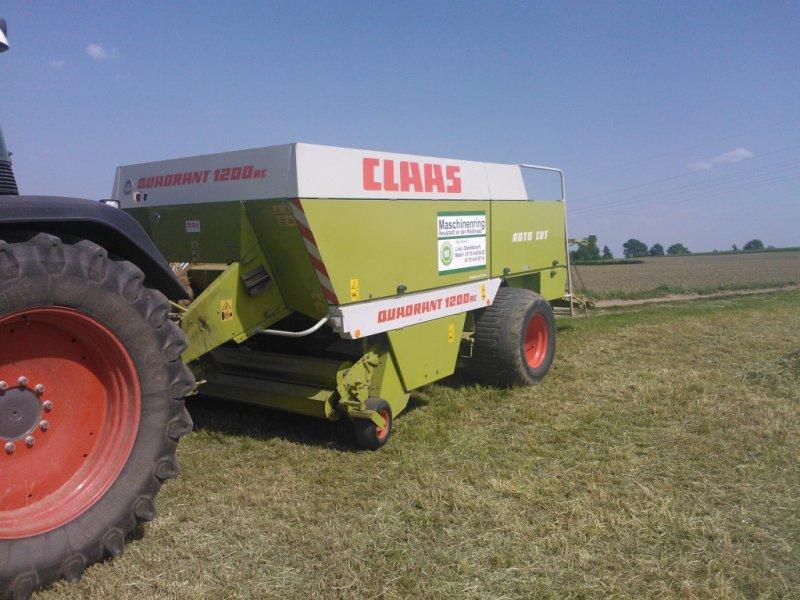Großpackenpresse des Typs CLAAS Quadrant 1200 RC, Gebrauchtmaschine in Vorbach (Bild 1)