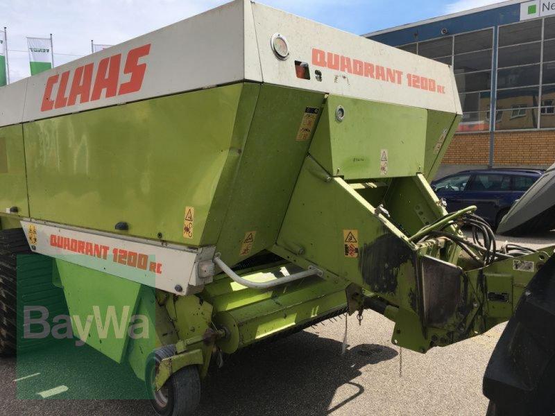 Großpackenpresse des Typs CLAAS QUADRANT 1200RC, Gebrauchtmaschine in Obertraubling (Bild 8)