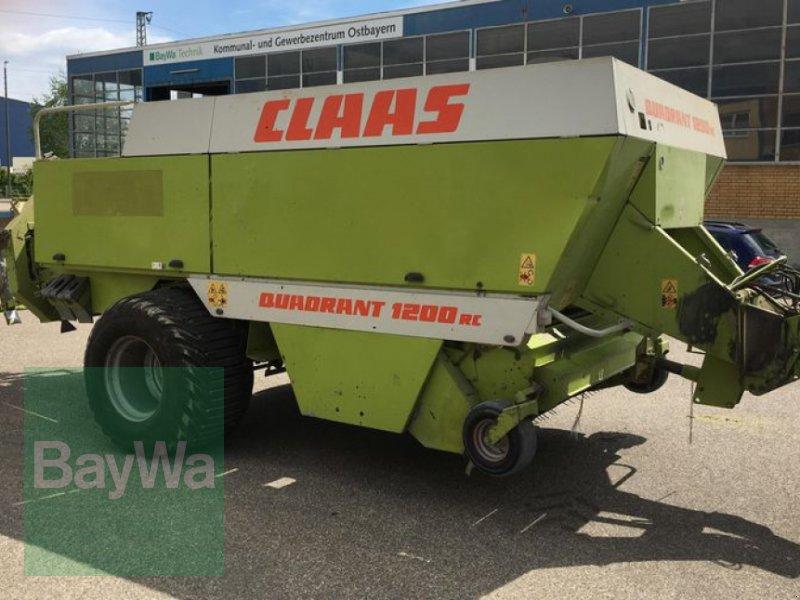 Großpackenpresse des Typs CLAAS Quadrant 1200RC, Gebrauchtmaschine in Obertraubling (Bild 7)