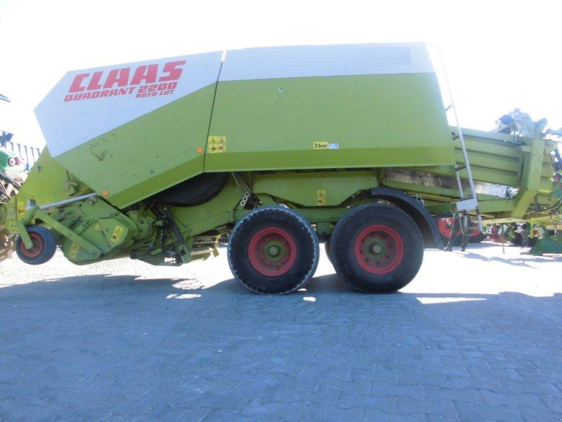 Großpackenpresse des Typs CLAAS Quadrant 2200 RC Tandem, Gebrauchtmaschine in Schwend (Bild 1)