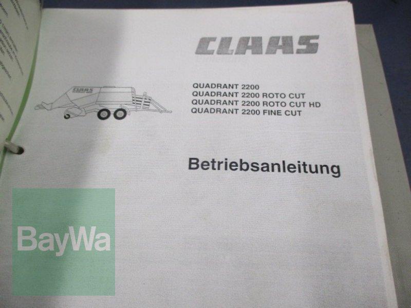 Großpackenpresse des Typs CLAAS Quadrant 2200 RC Tandem, Gebrauchtmaschine in Schönau b.Tuntenhausen (Bild 30)