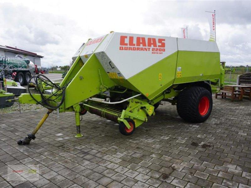 Großpackenpresse des Typs CLAAS QUADRANT 2200 RC, Gebrauchtmaschine in Töging am Inn (Bild 3)