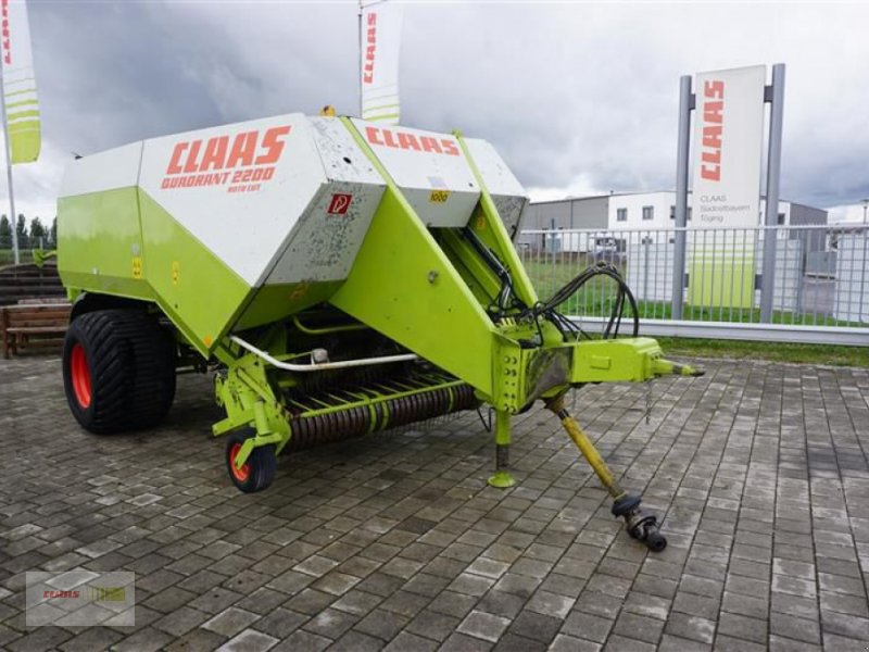 Großpackenpresse des Typs CLAAS QUADRANT 2200 RC, Gebrauchtmaschine in Töging am Inn (Bild 1)