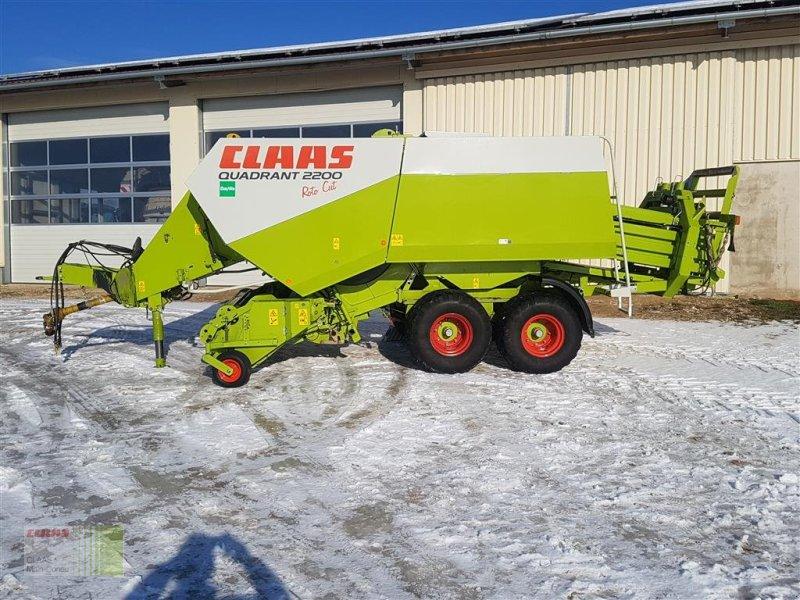 Großpackenpresse des Typs CLAAS Quadrant 2200 RC, Gebrauchtmaschine in Wassertrüdingen (Bild 3)