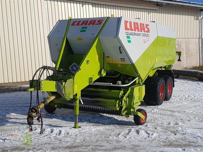 Großpackenpresse des Typs CLAAS Quadrant 2200 RC, Gebrauchtmaschine in Wassertrüdingen (Bild 5)