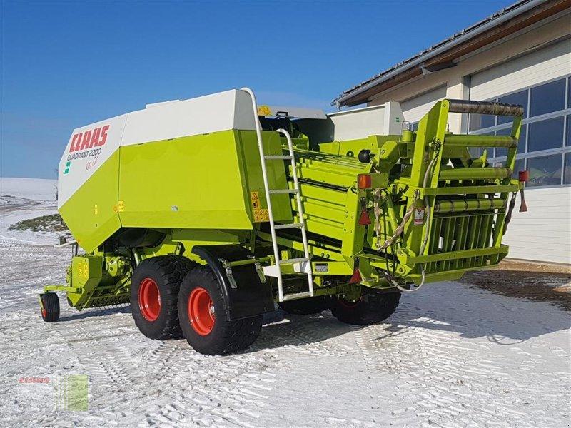 Großpackenpresse des Typs CLAAS Quadrant 2200 RC, Gebrauchtmaschine in Wassertrüdingen (Bild 7)