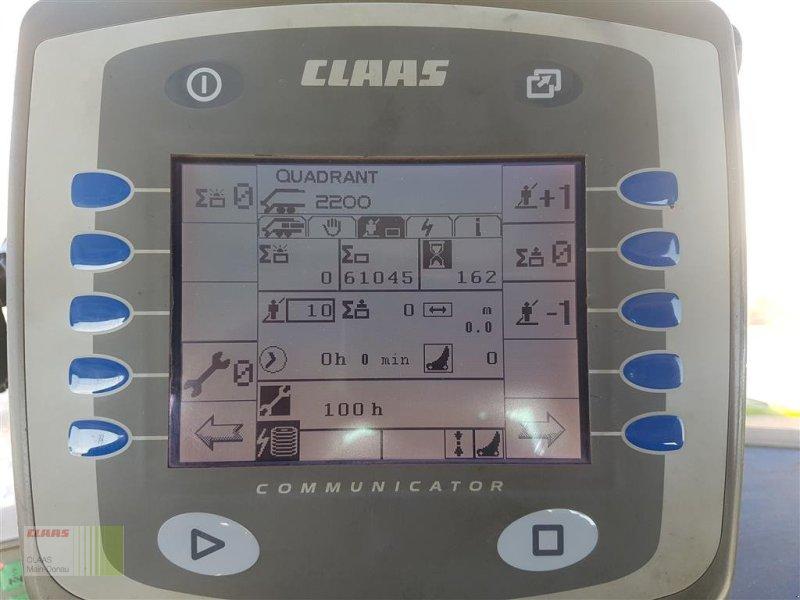 Großpackenpresse des Typs CLAAS Quadrant 2200 RC, Gebrauchtmaschine in Wassertrüdingen (Bild 14)