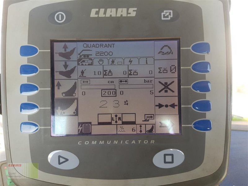 Großpackenpresse des Typs CLAAS Quadrant 2200 RC, Gebrauchtmaschine in Wassertrüdingen (Bild 15)