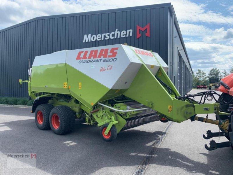 Großpackenpresse des Typs CLAAS Quadrant 2200 RC, Gebrauchtmaschine in Tönisvorst (Bild 1)