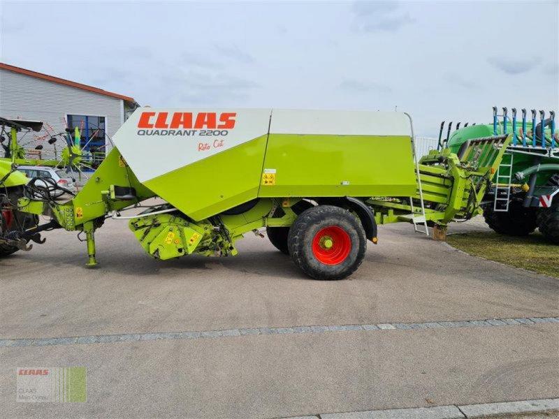 Großpackenpresse des Typs CLAAS QUADRANT 2200, Gebrauchtmaschine in Vohburg (Bild 1)