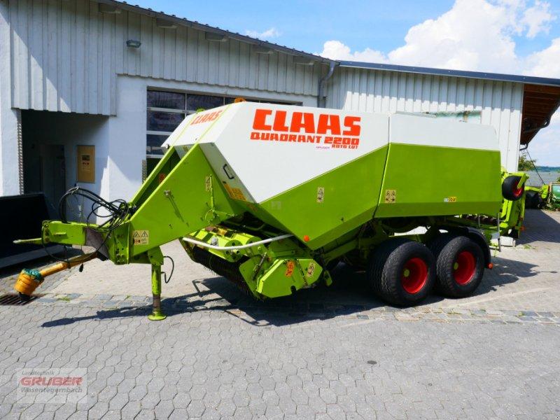 Großpackenpresse des Typs CLAAS Quadrant 2200, Gebrauchtmaschine in Dorfen (Bild 1)