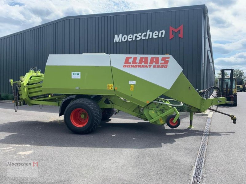 Großpackenpresse des Typs CLAAS Quadrant 2200, Gebrauchtmaschine in Tönisvorst (Bild 1)