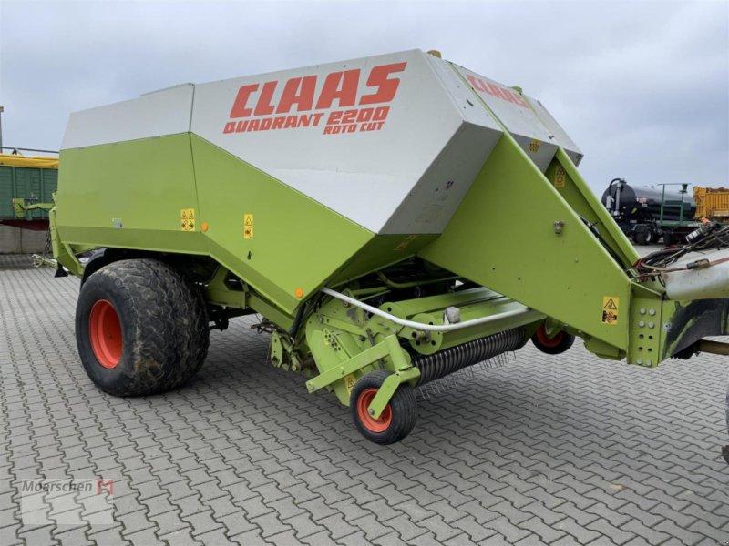 Großpackenpresse des Typs CLAAS Quadrant 2200RC, Gebrauchtmaschine in Tönisvorst (Bild 1)