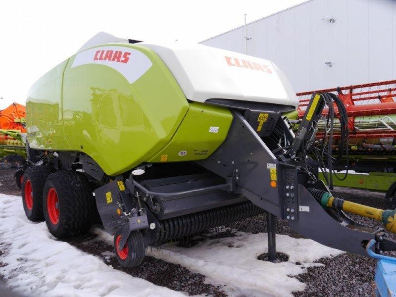 Großpackenpresse des Typs CLAAS QUADRANT 4200 RC T+ST, Gebrauchtmaschine in Landsberg (Bild 1)