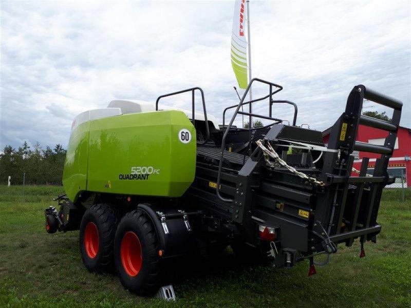 Großpackenpresse des Typs CLAAS QUADRANT 5200 FC TANDEM, Vorführmaschine in Töging a. Inn (Bild 5)
