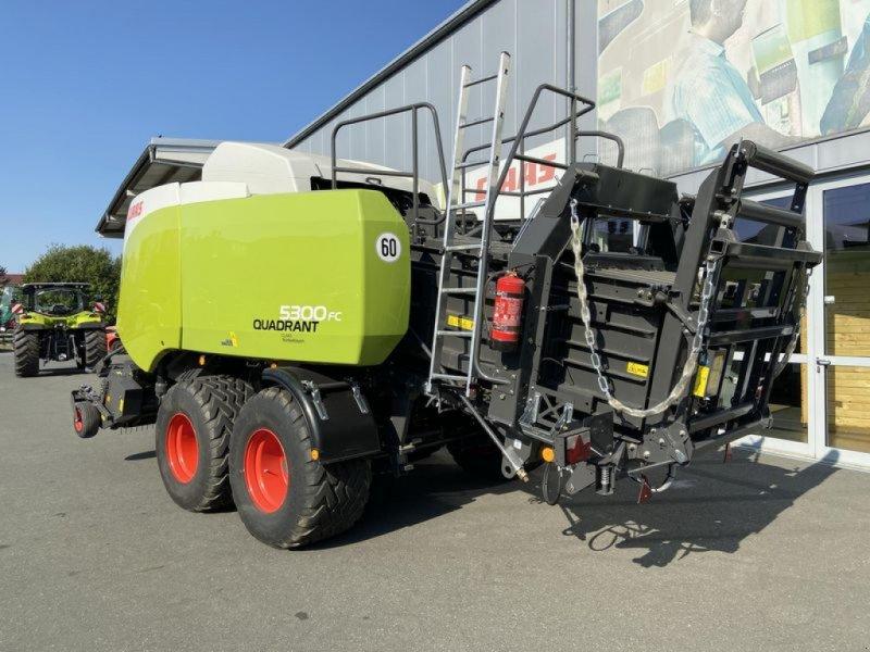Großpackenpresse des Typs CLAAS QUADRANT 5300 FC TANDEM CLAAS, Vorführmaschine in Gefrees (Bild 10)