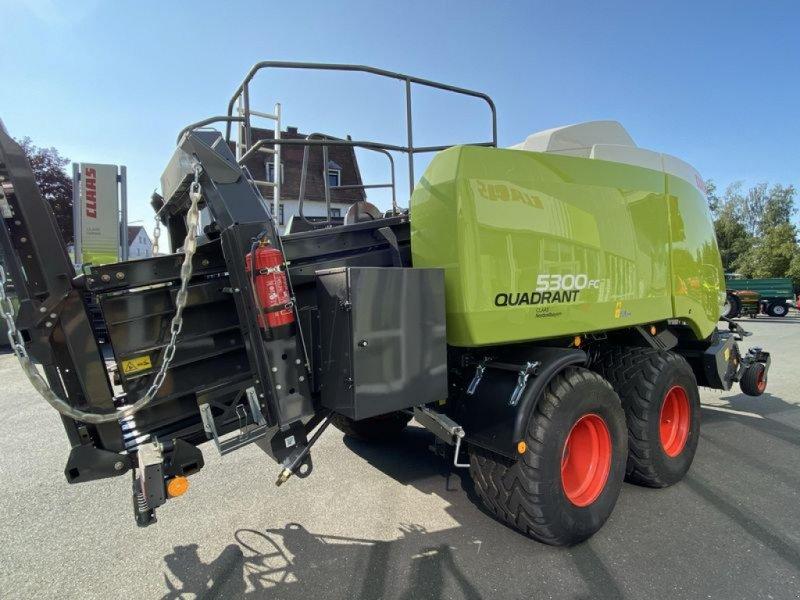Großpackenpresse des Typs CLAAS QUADRANT 5300 FC TANDEM CLAAS, Vorführmaschine in Gefrees (Bild 13)