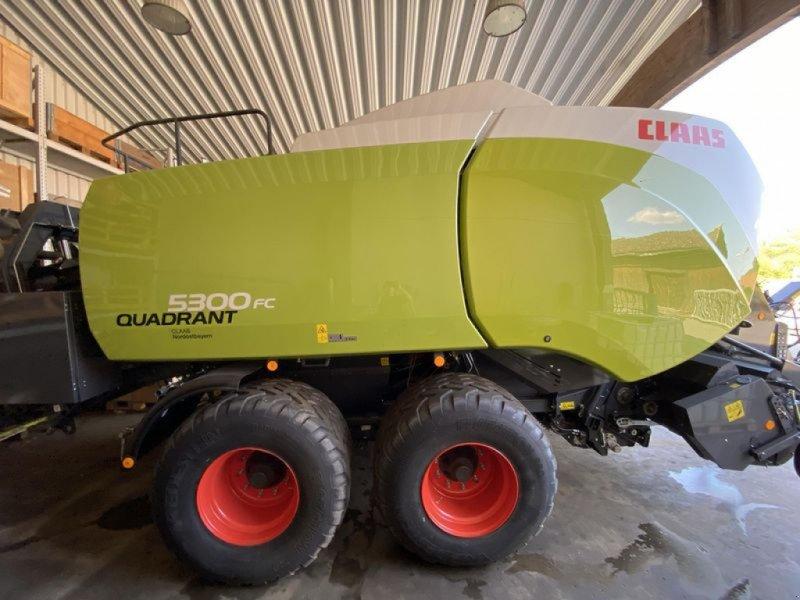 Großpackenpresse des Typs CLAAS QUADRANT 5300 FC TANDEM CLAAS, Vorführmaschine in Gefrees (Bild 6)