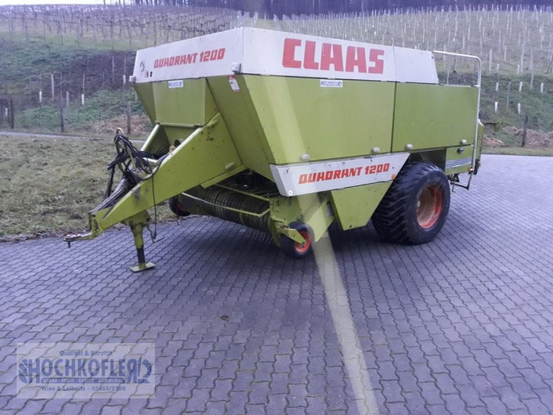Großpackenpresse des Typs CLAAS Quadranten 1200, Gebrauchtmaschine in Wies (Bild 1)