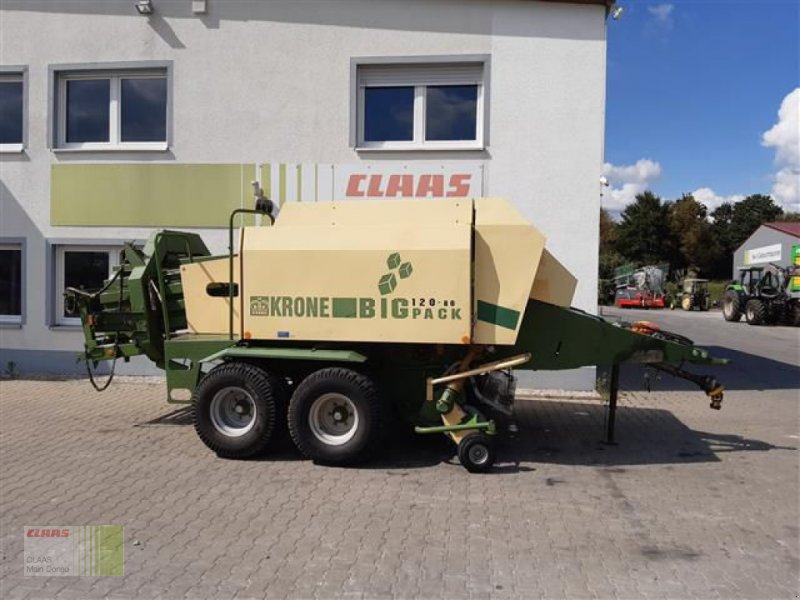 Großpackenpresse des Typs Krone 120/80, Gebrauchtmaschine in Vohburg (Bild 1)