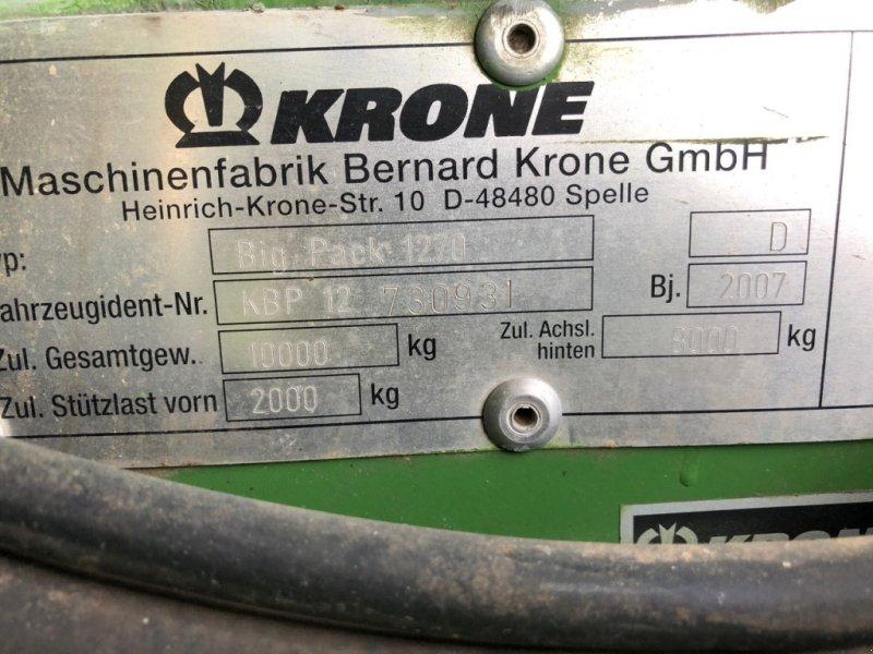 Großpackenpresse a típus Krone Big Pack 1270 XC VFS, Gebrauchtmaschine ekkor: Leutershausen (Kép 8)