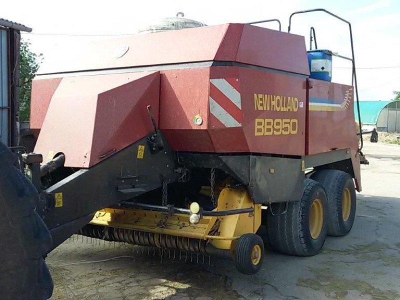 Großpackenpresse des Typs New Holland BB950, Gebrauchtmaschine in CHAUMONT (Bild 1)