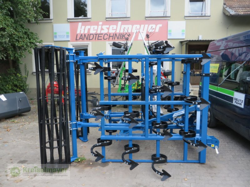 Grubber typu Agripol Kobalt 400 T mit Rohrstabwalze (Qualität von Bellota), NEU *AKTION* // Leichtgrubber / Großfederzingenegge, Neumaschine v Feuchtwangen (Obrázok 1)