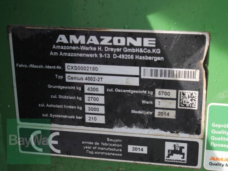 Grubber des Typs Amazone CENIUS 4002-2T, Gebrauchtmaschine in Straubing (Bild 9)