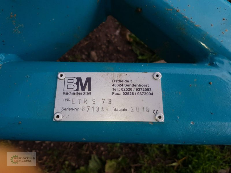 Grubber des Typs BM Maschinenbau ETR S 73 Egge neuwerig, ca. 10 Hektar, Gebrauchtmaschine in Rittersdorf (Bild 6)