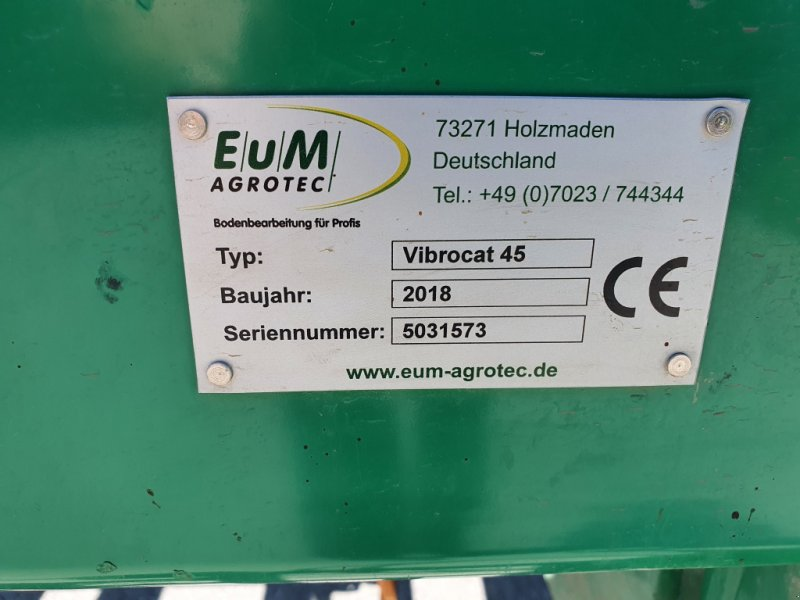 Grubber типа EuM-Agrotec Vibrocat 45, Gebrauchtmaschine в Thalmässing (Фотография 14)