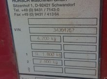Horsch Terrano 5 FX Εκριζωτής