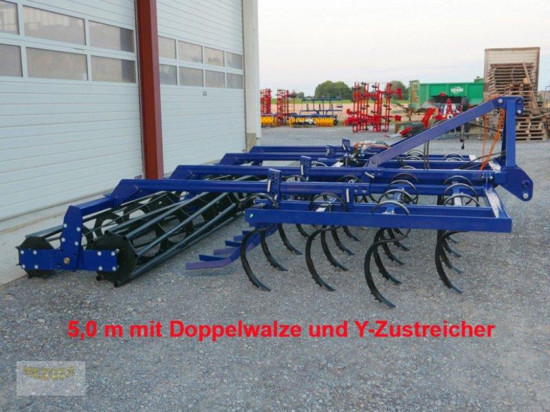 Grubber tipa Sonstige Leichtgrubber 5,0 m mit Doppelwalze und Zustreifer, Neumaschine u Ditzingen (Slika 1)