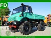 Mercedes-Benz Unimog 417 Agrar mit OM366 Motor Луговой трактор